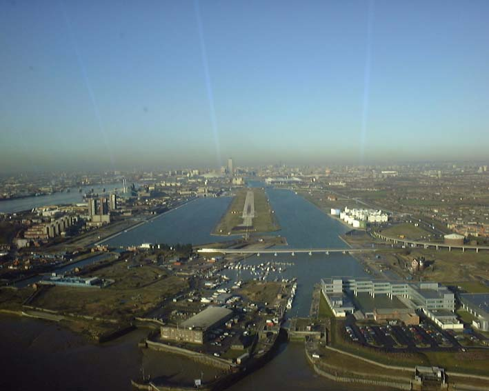 View of London City Airport